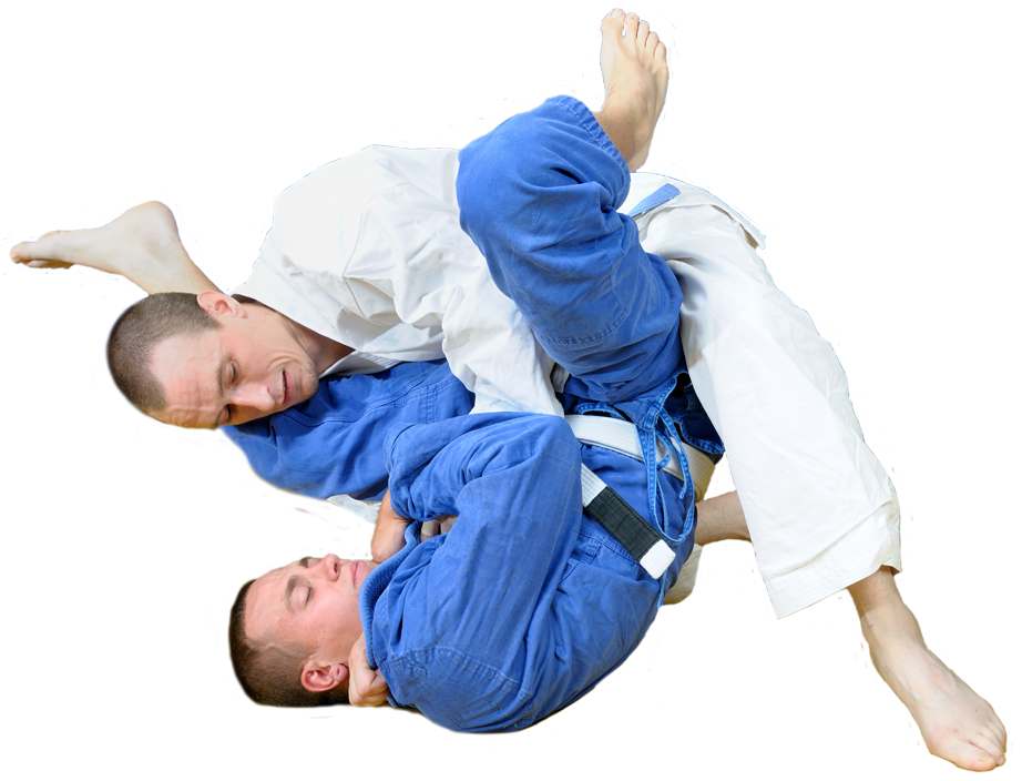 2 men grappling