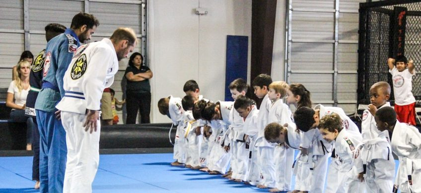 Jiu-jitsu classes Team Tooke Kids class