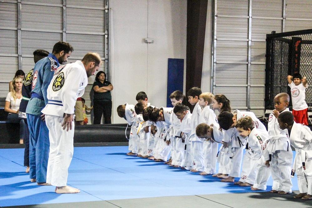 Team Tooke Kids Brazilian Jiu Jitsu class