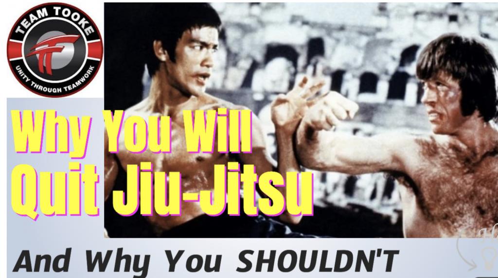 Why Students Quit Jiu jitsu