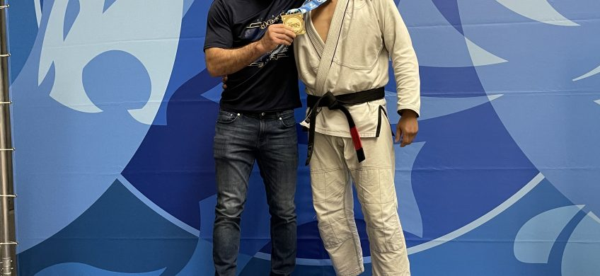 Jiu-jitsu Black Belt Jose Llanas